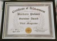2018 Palmer - Survivor Award